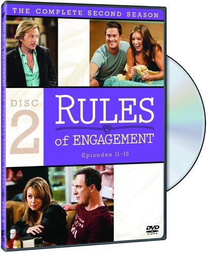 Rules of Engagement: The Complete Second Season DVD
