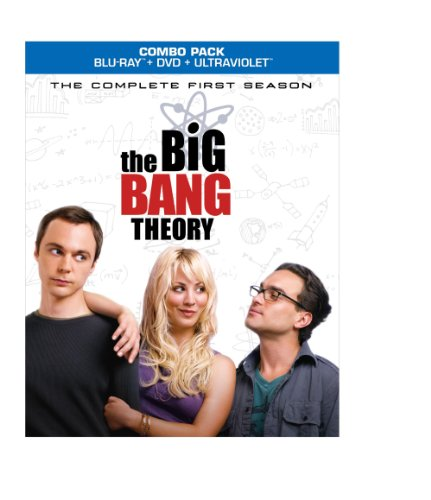 The Big Bang Theory: The Complete First Season [Blu-ray] DVD