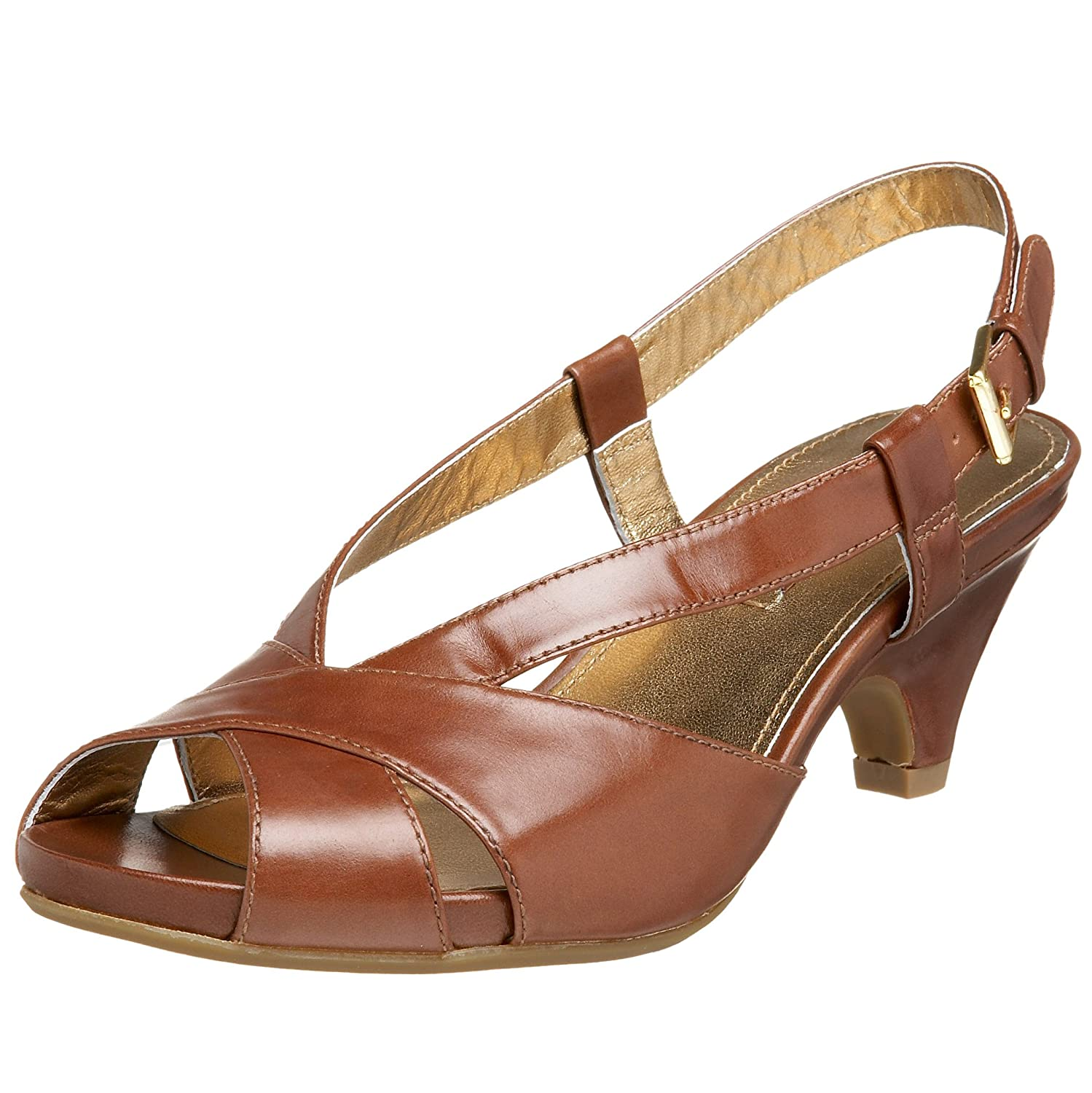 ECCO Women's Gracias Platform Peep Toe - Free Overnight Shipping & Return Shipping: Endless.com :  platform mid-heel retro heels
