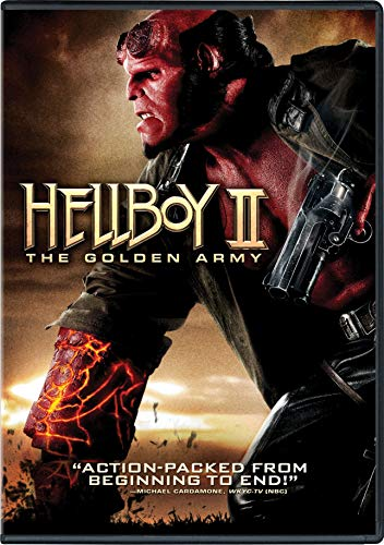 Hellboy II: The Golden Army cover