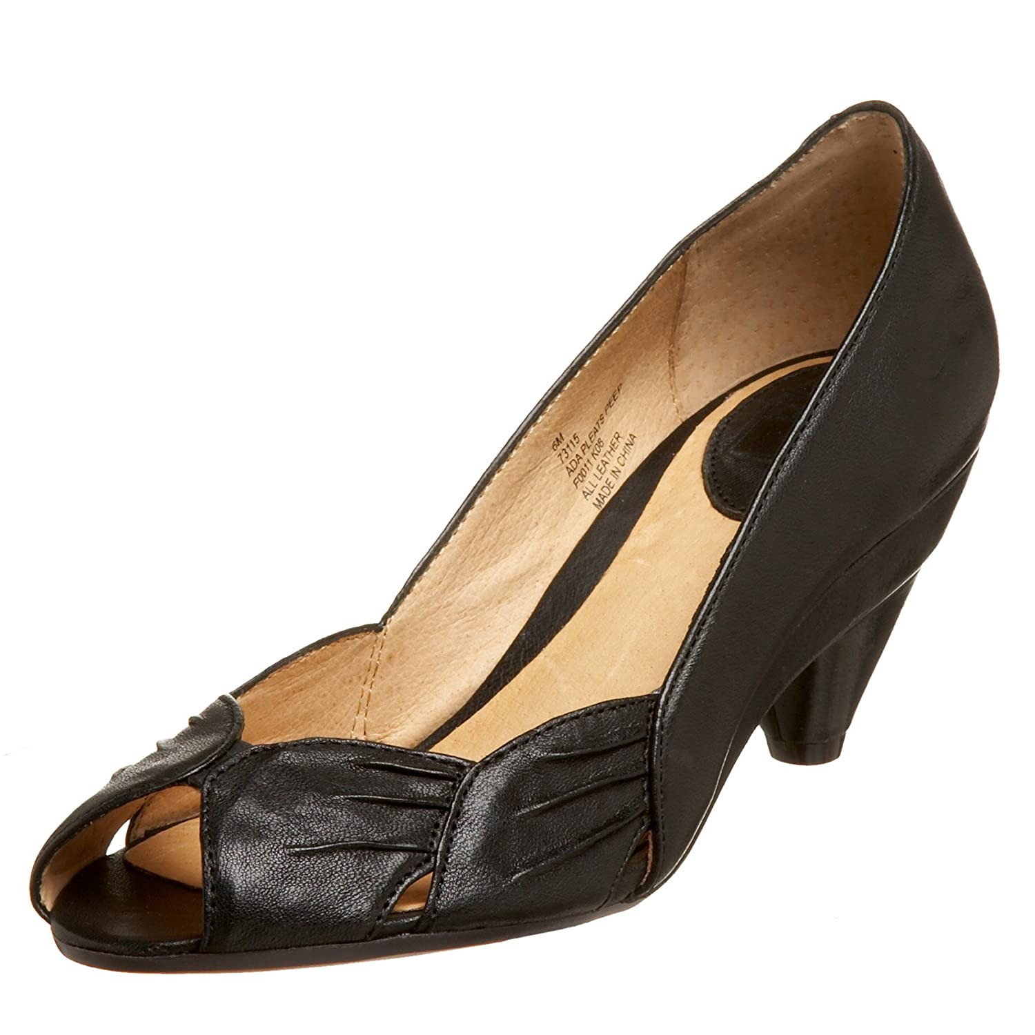 FRYE Ada Pleats Peep Toe Pump - Free Overnight Shipping & Return Shipping: Endless.com from endless.com