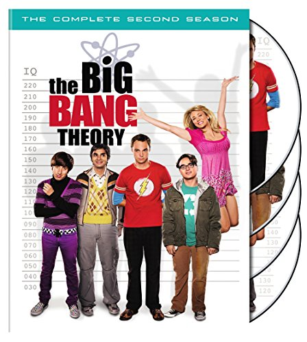 The Big Bang Theory Season 2 cover