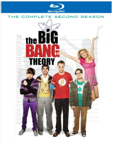 The Big Bang Theory: The Complete Second Season [Blu-ray] DVD