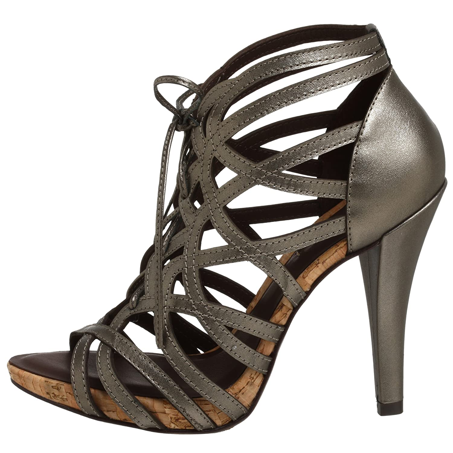 Gianni Sandal :  shoes high heel strappy metallic
