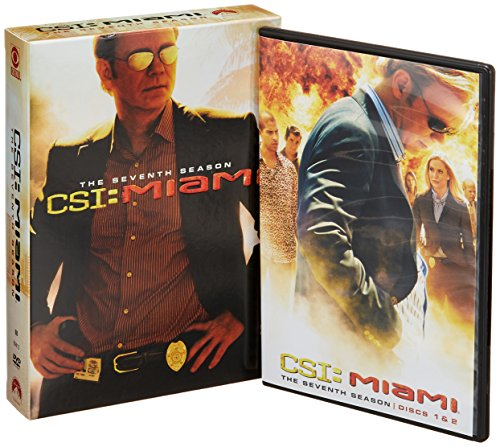 CSI Miami: The Complete Seventh Season DVD