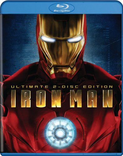 Iron Man Blu-ray Edition cover