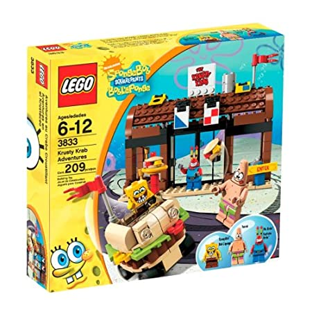 Lego Spongebob Squarepants Krusty Krab Adventures Set