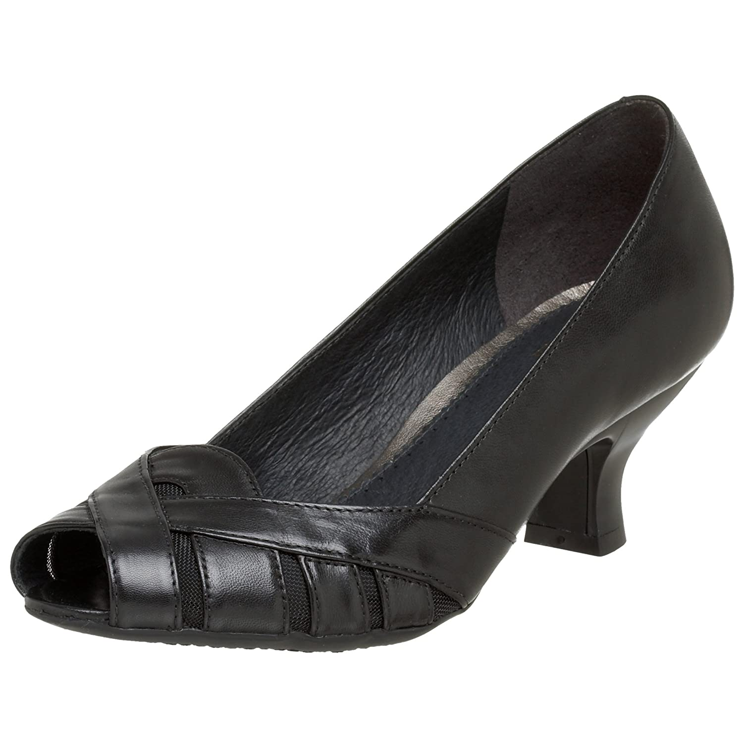 Clarks Women's Apple Star Pump - Free Overnight Shipping & Return Shipping: Endless.com :  clarks heels shoes peeptoe