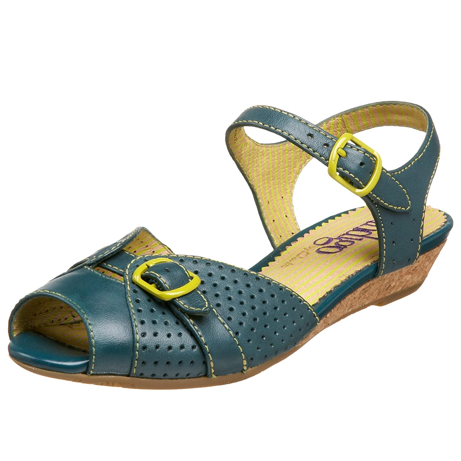 Indigo By Clarks Women's Gelato Sandal - Free Overnight Shipping & Return Shipping: Endless.com :  clarks low heel buckle retro