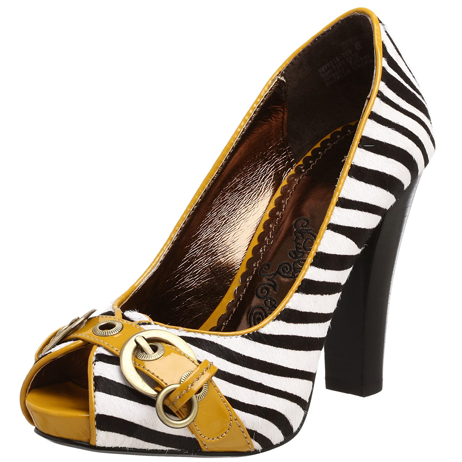 Naughty Monkey Women's The Hype Pump - Free Overnight Shipping & Return Shipping: Endless.com :  high heel shoe shoes white