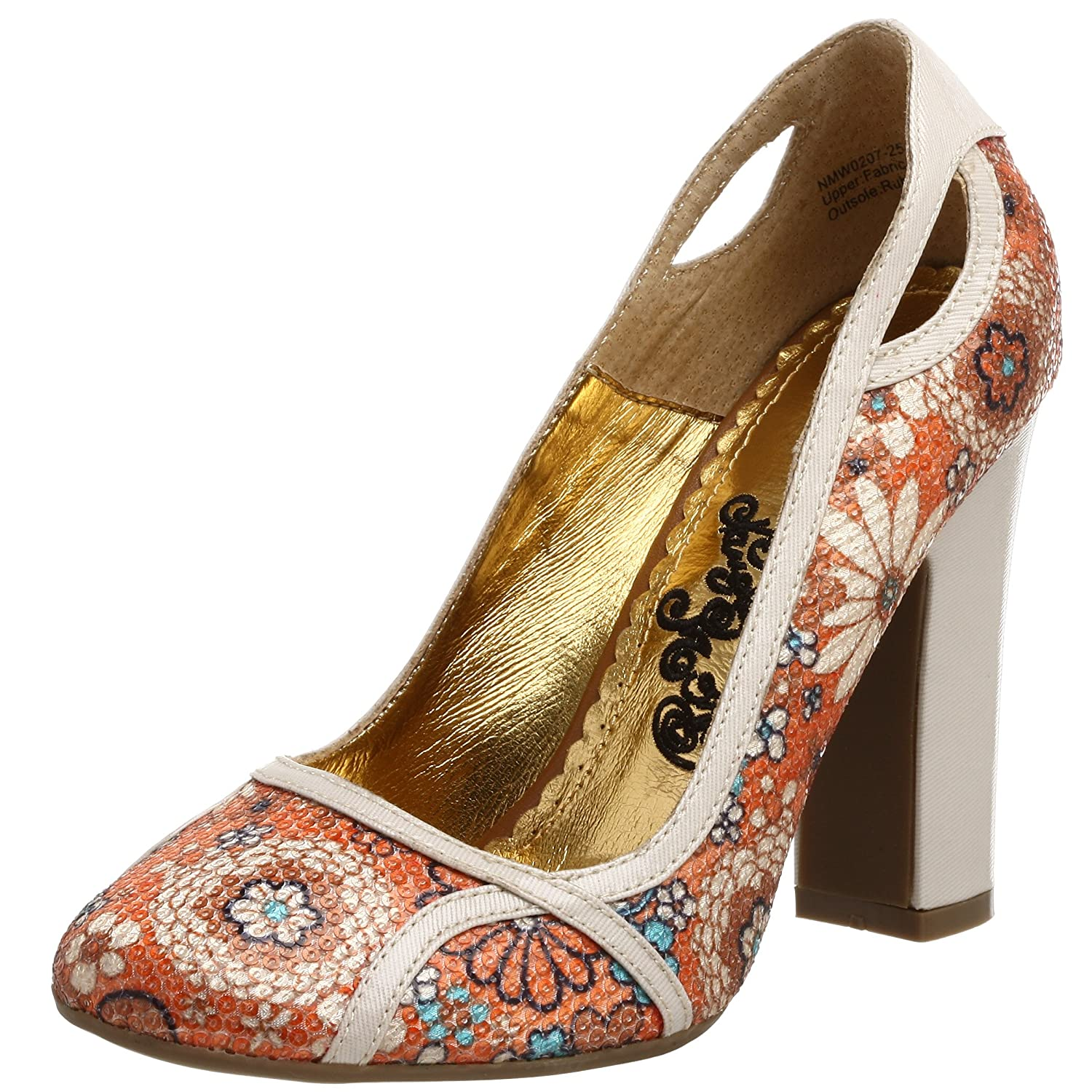 Naughty Monkey Women's Sequin Bouquet Pump - Free Overnight Shipping & Return Shipping: Endless.com :  shoes flower flowers coral