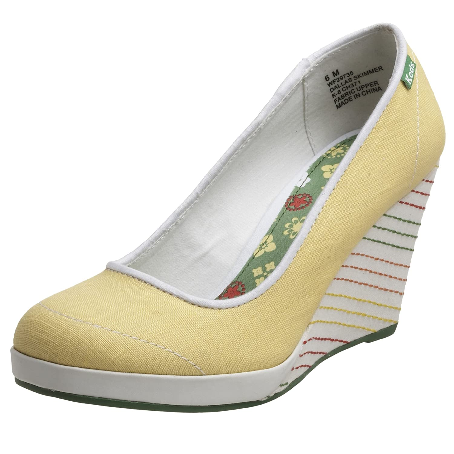 Keds Women's Dallas Skimmer Wedge - Free Overnight Shipping & Return Shipping: Endless.com :  platform heels keds skimmer