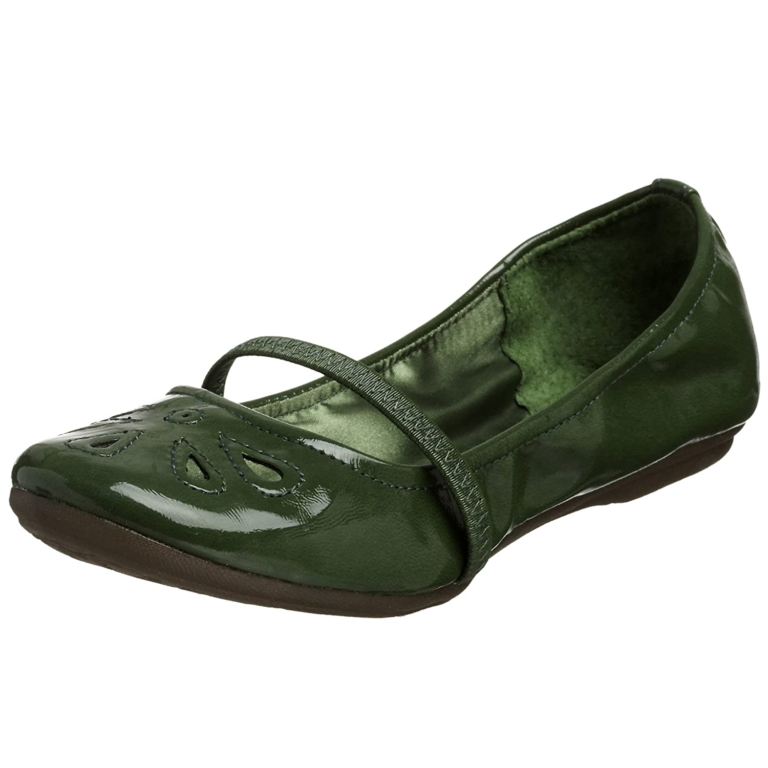 Report Olwyn Mary Jane Ballerina Flat - Free Overnight Shipping & Return Shipping: Endless.com