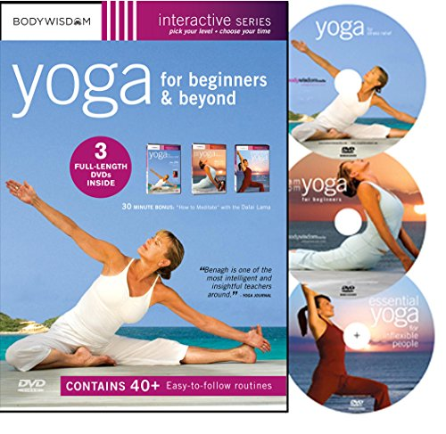 Yoga for Beginners Boxed Set Yoga for Stress Relief / AM-PM Yoga for Beginners / Essential Yoga for Inflexible People