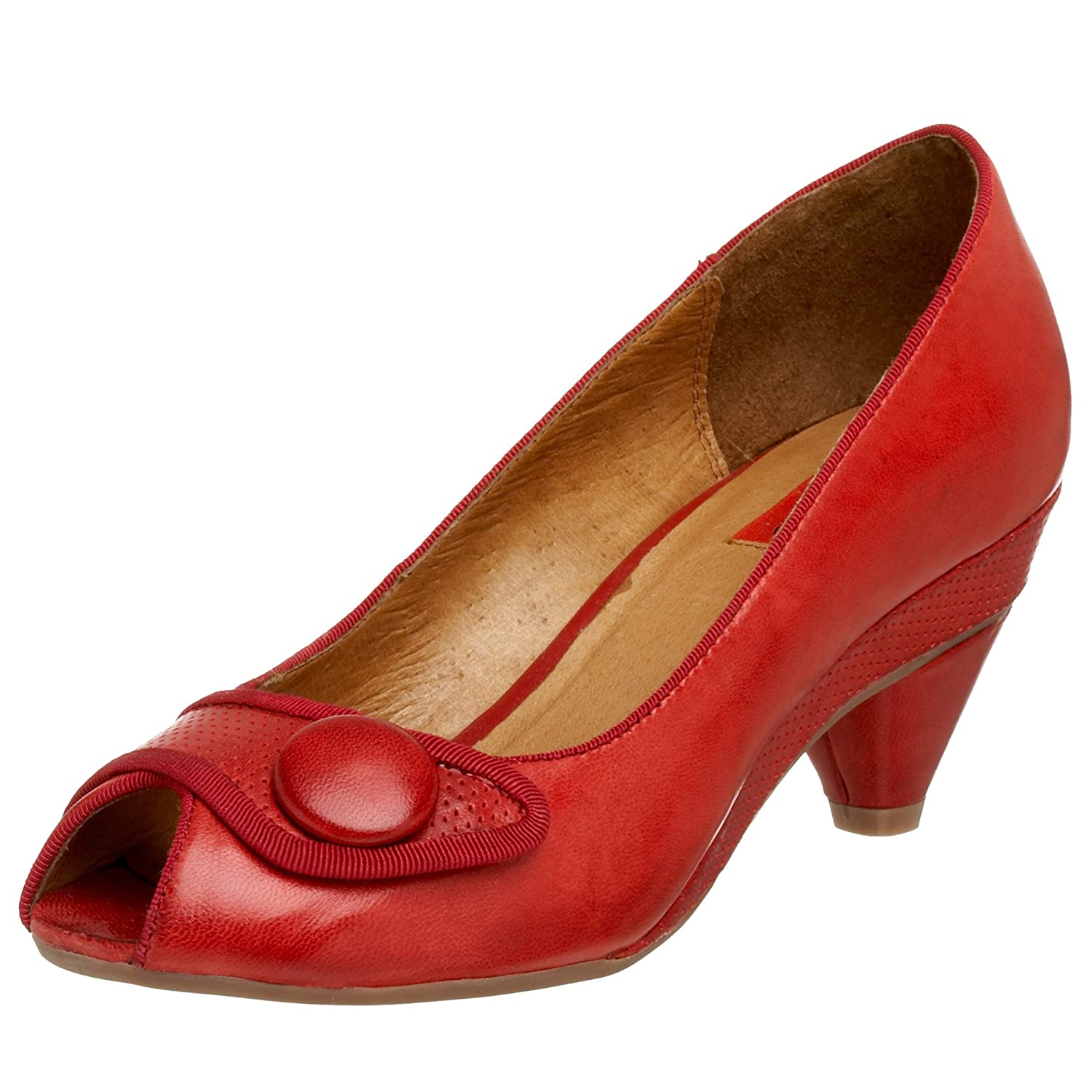 Miz Mooz Ruby Peep Toe Pump