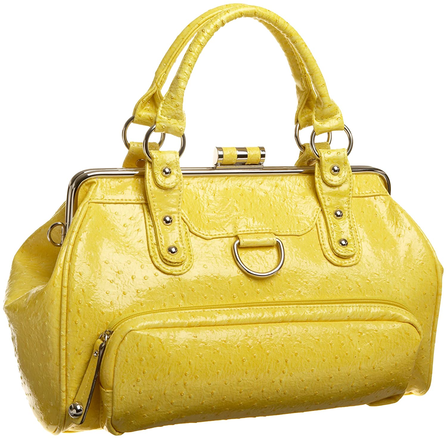 Rampage Misty Satchel - Free Overnight Shipping & Return Shipping: Endless.com :  handles lined yellow rampage
