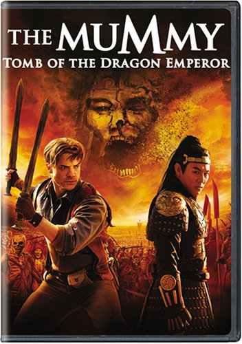 The Mummy: Tomb of the Dragon Emperor  DVD