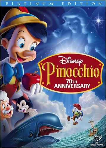 Pinocchio Two-Disc 70th Anniversary Platinum Edition