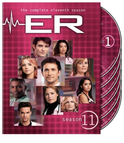 ER: The Complete Eleventh Season DVD