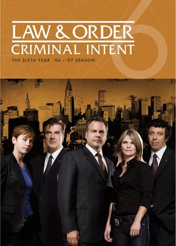 Law & Order Criminal Intent: Season 6 DVD