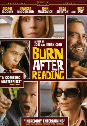 Burn After Reading  DVD