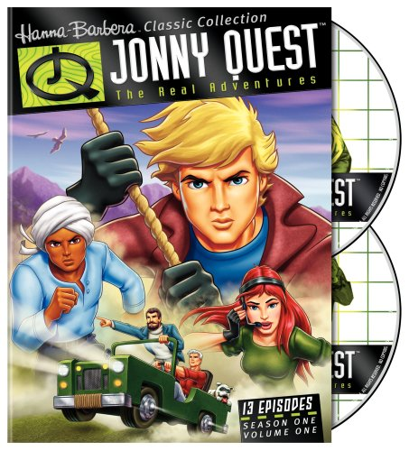 Jonny Quest: The Real Adventures cover