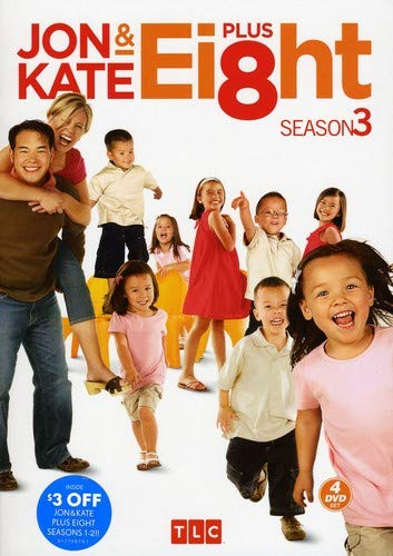 Jon and Kate Plus Ei8ht: Season Three DVD