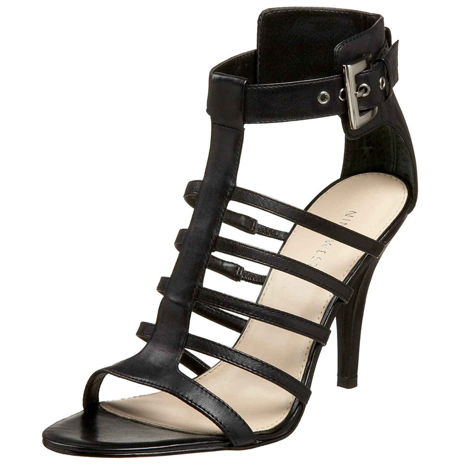 Nine West Women's Jamie Sandal - Free Overnight Shipping & Return Shipping: Endless.com :  black strappy sandals nine west strappy sandals shoes