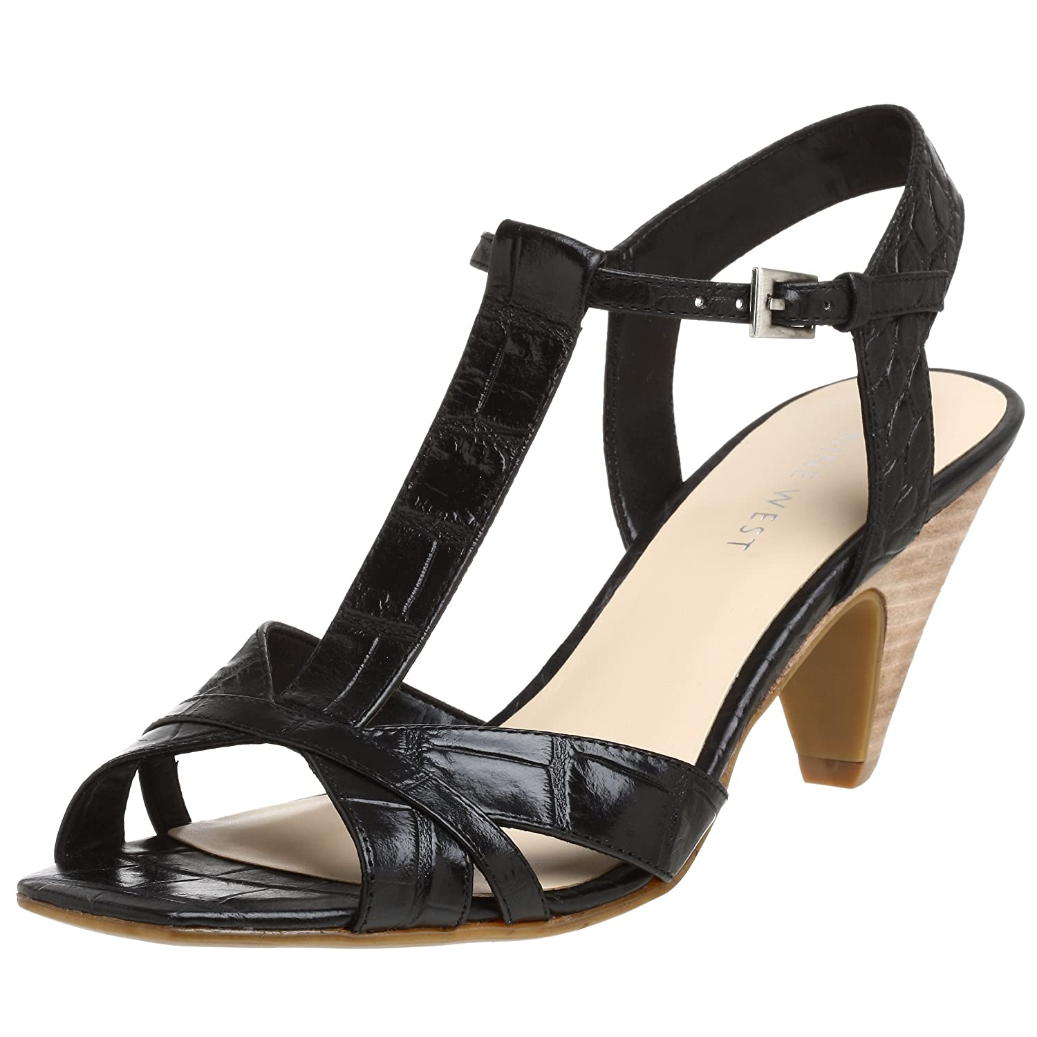 Nine West Women's Neatty T-Strap Sandal - Free Overnight Shipping & Return Shipping: Endless.com :  t-strap heels sandals shoes