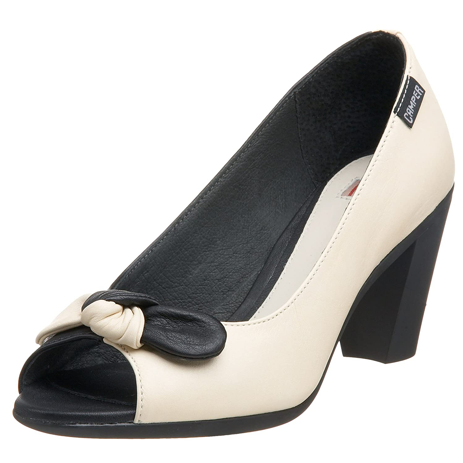 Camper Women's Twins 20981-1 - Free Overnight Shipping & Return Shipping: Endless.com :  pumps two tone retro heels