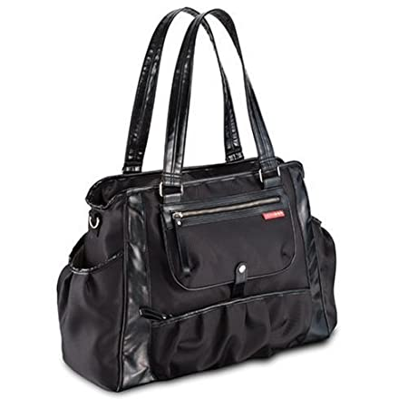 Skip Hop Studio Diaper Bag Black For Baby