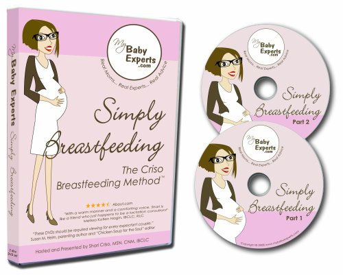Simply Breastfeeding DVD Set by Shari and Joe Criso