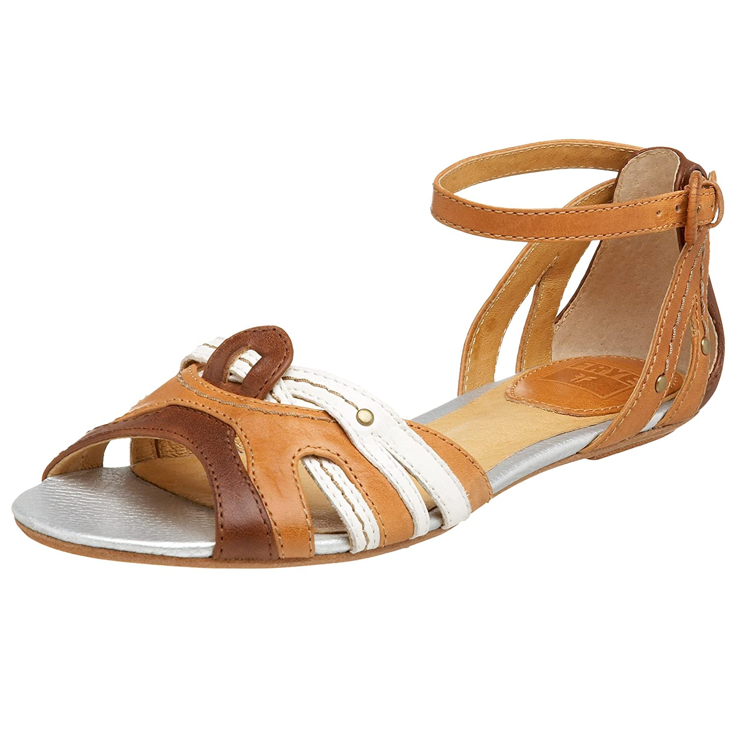 Frye Vanessa Flat - Free Overnight Shipping & Return Shipping: Endless.com :  flat retro flats sandals