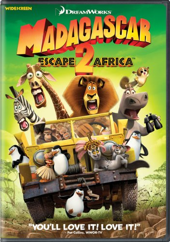 Madagascar: Escape 2 Africa cover
