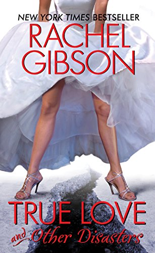 Book True Love and Other Disasters - a pair of legs in a hiked up wedding dress standing over a huge crack in some ice.