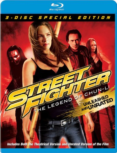 Street Fighter: The Legend of Chun-Li [Blu-ray] DVD