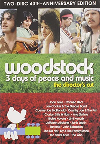 Woodstock: Three Days of Peace & Music Two-Disc 40th Anniversary Director's Cut