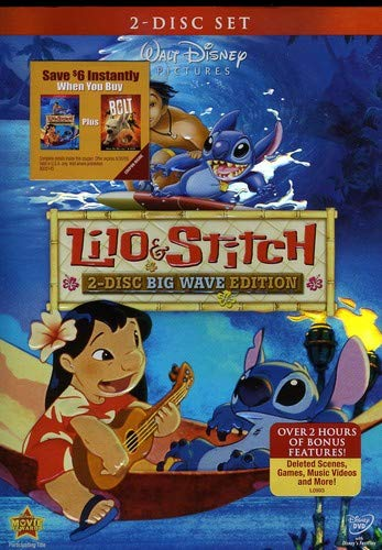 Lilo & Stitch: Big Wave Edition cover