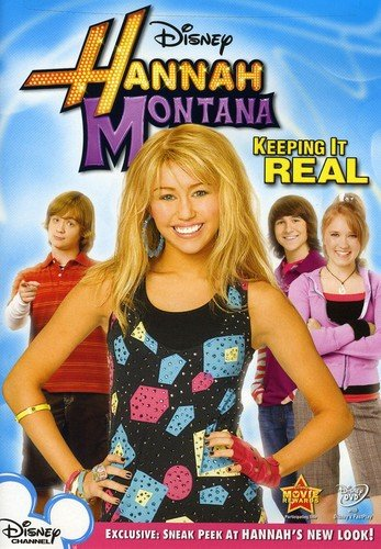 Hannah Montana: Keeping It Real DVD