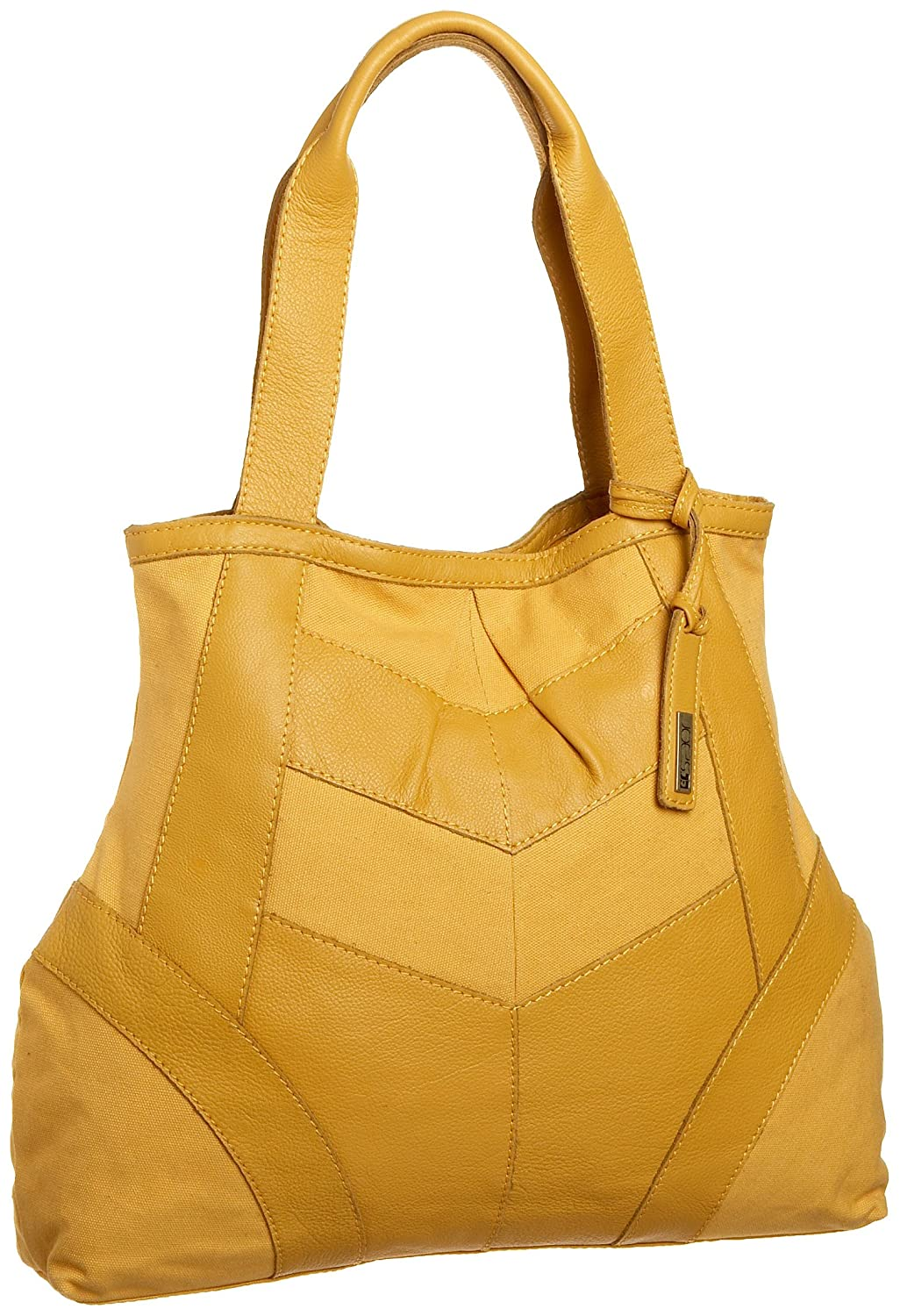 Joe's Jeans Katie Large Tote - Free Overnight Shipping & Return Shipping: Endless.com :  leather joes jeans yellow straps