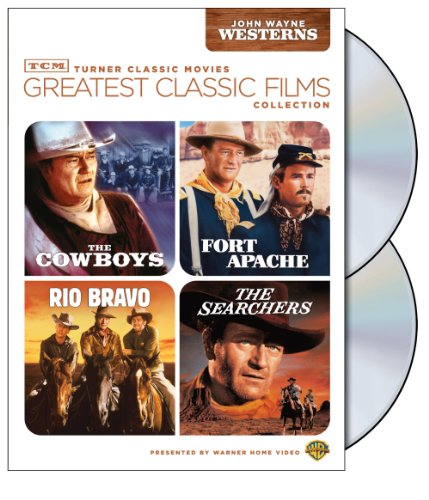 TCM Greatest Classic Films Collection: John Wayne Westerns The Cowboys / Fort Apache / Rio Bravo / The Searchers
