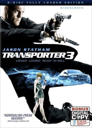 Transporter 3  DVD