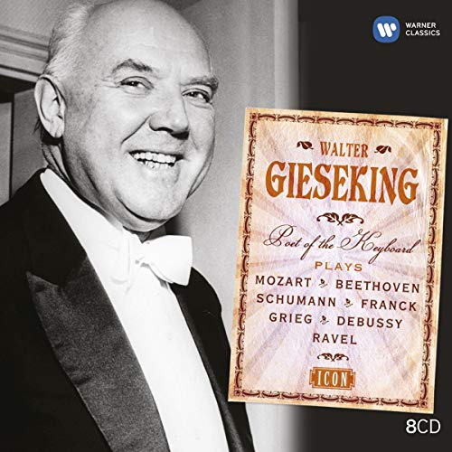 Collection Icon : Walter Gieseking (Coffret 8 CD)