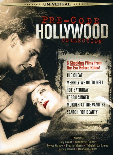 Pre-Code Hollywood Collection cover