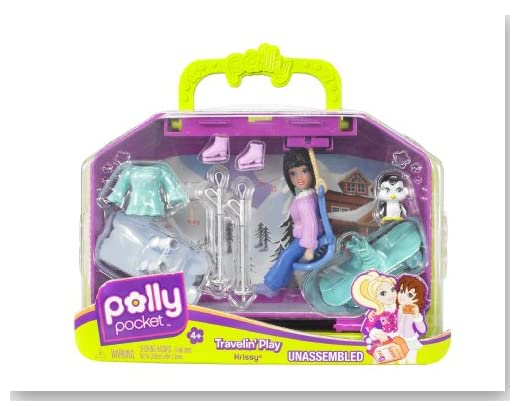 Polly Pocket Ski Luggage