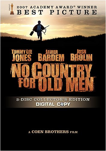No Country for Old Men  DVD