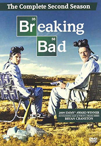 Breaking Bad: The Complete Second Season DVD