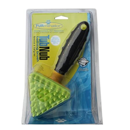 Furminator Tubnub Bathing Tool - Yellow/green
