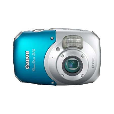 Canon Powershot D10 12.1mp Digital Camera With 3x Optical Zoom – Blue