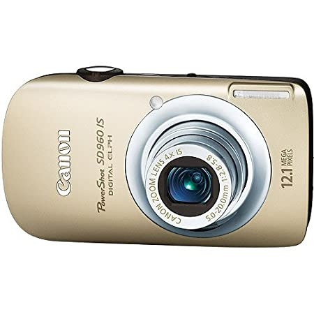 Canon Powershot Sd960 Is 12.1mp Digital Camera With 4x Optical Zoom -